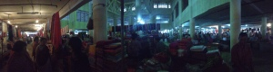 A panoramic view of the amazing all women IMA KEITHEL or Ima Market