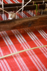 Every inch lovingly woven... every weft counted