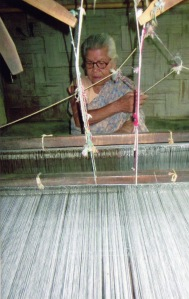 Busy weaving Kone Wovens!